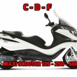 MAXI SCOOTER 125 - 250 - 500