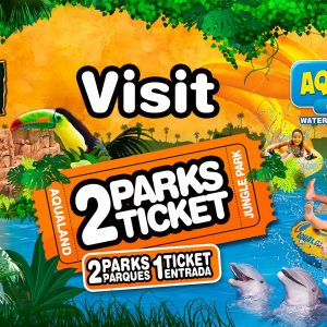 jungle park aqualand 2 parks ticket