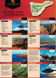 tenerife helicopter rides